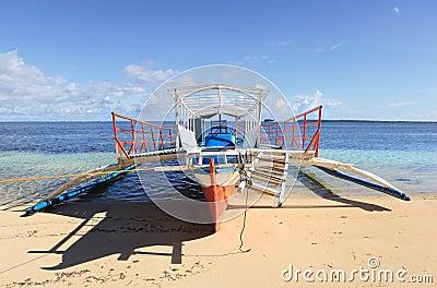 Tourism bangka boat Philippines