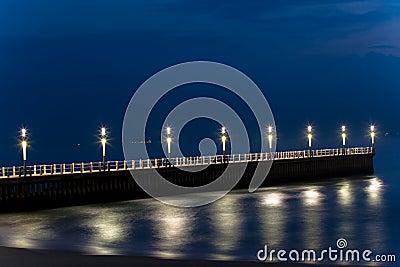 Beachfront Piers Ocean