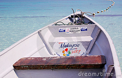 Tourism Boat in Malaysia Editorial Stock Photo