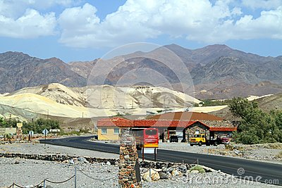 USA, California/Death Valley: Furnace Creek Editorial Stock Photo