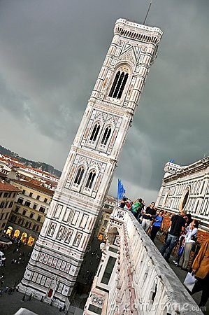 Tourism in Florence Editorial Image