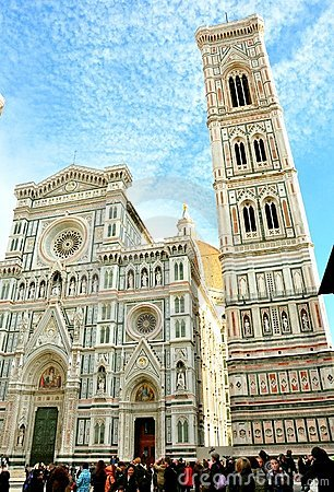 Tourism in Florence, Italy Editorial Photo