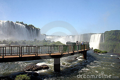 Tourism In Foz De Iguazu, Brazil Royalty Free Stock Images - Image: 17945789