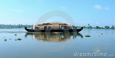 Tourism in India, the backwaters of Kerala
