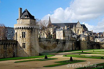 Tourism medieval in Vannes