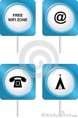 Tourism symbols 3