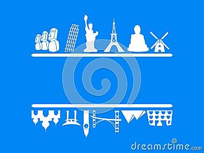 Tourism and travel frame