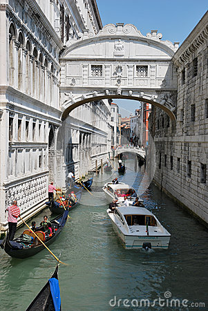 Tourism in Venice Editorial Image
