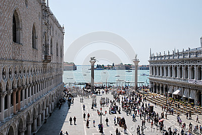 Tourism in Venice Editorial Stock Image