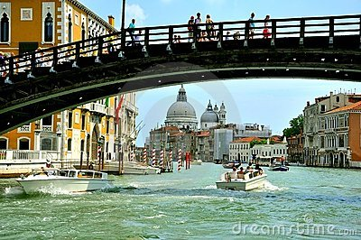 Tourism in Venice , Italy Editorial Photography