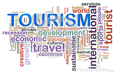 Tourism word tags