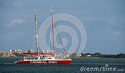Tourist Boat Editorial Image
