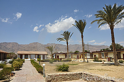 Tourist bungalow in Sinai.