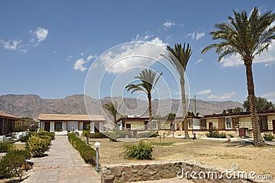 Tourist bungalow in Sinai.
