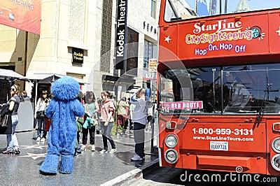 Tourist bus tour Editorial Photo