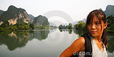 Tourist in China Asia