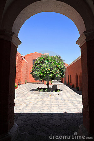 Tourist destination, Arequipa - Peru.