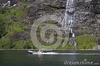 Tourist excursion Editorial Stock Image