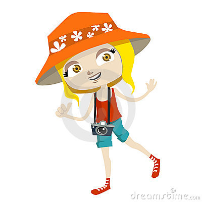 Image result for royalty free images cartoon tourist