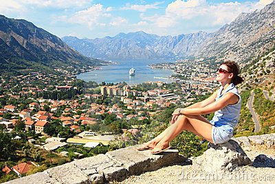 Tourist in Kotor