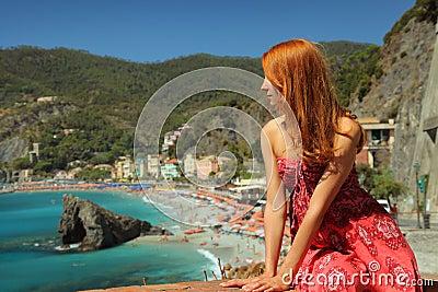 Tourist in Moterosso