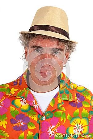 Tourist portrait