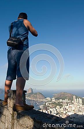 Tourist in Rio