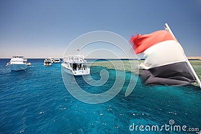 Tourist ships