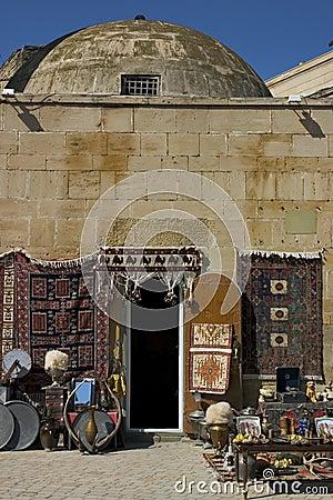 Free Tourist Shop, Baku. Stock Images - 1368654