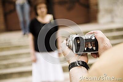 Tourist snapshot