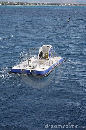 Tourist submarine Editorial Stock Photo