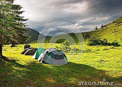 Tourist tents