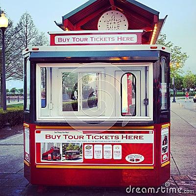 Tourist tour bus Editorial Stock Photo