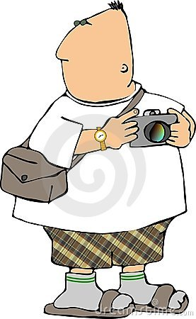 Free Tourist With A Camera Stock Photo - 140590