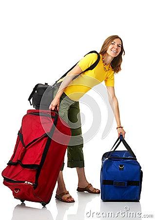 Free Tourist Woman Stock Image - 6041081