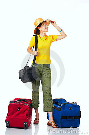 Free Tourist Woman Stock Images - 6041084