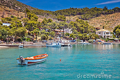 Touristic area on Poros
