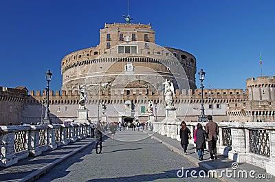 Touristic attraction in Rome Editorial Image