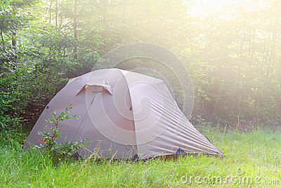 Touristic tent