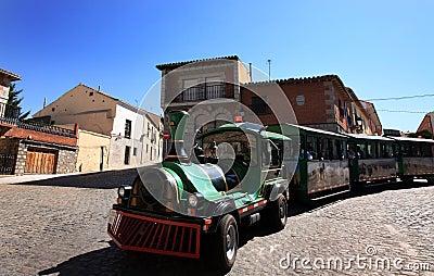 Touristic Train in Spain Editorial Stock Image