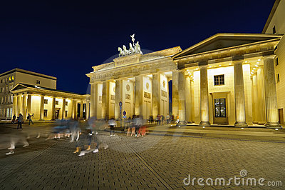 Tourists in the city, berlin