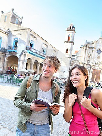 Free Tourists Couple Travel Royalty Free Stock Photos - 24186058