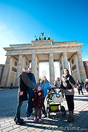 Free Tourists In Berlin Stock Photography - 16790252
