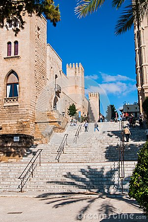 Traveling in Palma de Majorca Editorial Image