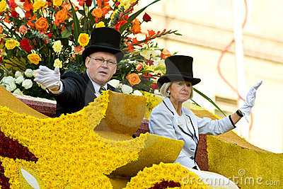 Tournament of Roses parade 2010 Editorial Image