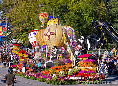 Tournament of Roses Parade 2010 Editorial Stock Image