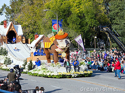 Tournament of Roses Parade 2010 Editorial Stock Photo