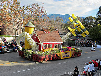 Tournament of Roses Parade 2010 Editorial Photo