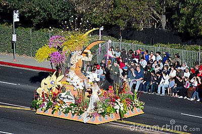 Tournament of Roses Parade Editorial Stock Image