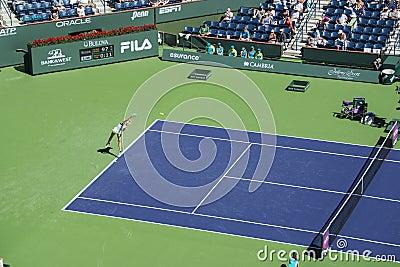 Maria Sharapova at Indian Wells 2013 Editorial Photo